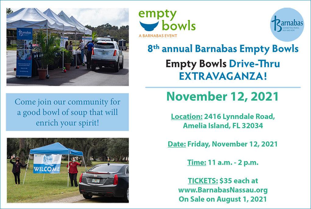 Barnabas Empty Bowls Drive-Thru